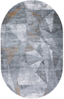 Ковер Milat Leda B003A-CREAM-ANTHRACITE-OVAL (2x2.9) -
