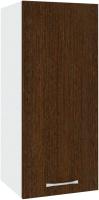 Шкаф навесной для кухни Кортекс-мебель Корнелия Лира ВШ30 (венге) -