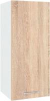 Шкаф навесной для кухни Кортекс-мебель Корнелия Лира ВШ30 (дуб сонома) -