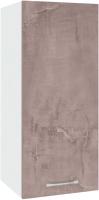 Шкаф навесной для кухни Кортекс-мебель Корнелия Лира ВШ30 (оникс) -