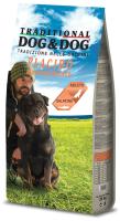 Корм для собак Gheda Petfood Dog&Dog Placido Mantenimento с лососем (20кг) -