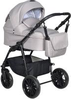 Детская универсальная коляска INDIGO Torino+F 3 в 1 (To 01, бежевый) -