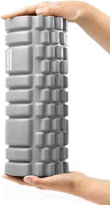 Валик для фитнеса массажный Sundays Fitness IR97435B (серый)