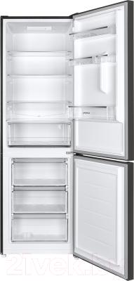Холодильник с морозильником Maunfeld MFF 185SFSB