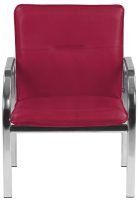 Секция стульев Nowy Styl Staff-1 Chrome (LE-E) -