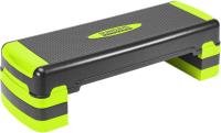 Степ-платформа Sundays Fitness IR97317 (черный/зеленый) -
