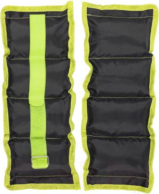 Комплект утяжелителей Sundays Fitness IR97812 (1кг, черный/зеленый)