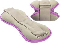 Комплект утяжелителей Sundays Fitness IR97843 (1кг, серый/фиолетовый) -