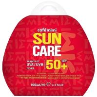 Крем солнцезащитный Le Cafe de Beaute Cafe Mimi Sun водостойкий SPF50+ для лица и тела (100мл) -