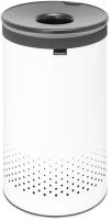 Бак для белья Brabantia 304880 (белый/темно-серый) -