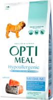 Корм для собак Optimeal Hippoallergenic Medium с лососем (1.95кг) -