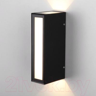 Бра уличное Elektrostandard Acrux 1524 TECHNO LED (черный)