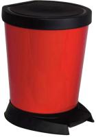 Мусорное ведро Алеана 124065 (красный) -