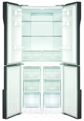 Холодильник с морозильником Maunfeld MFF 181NFB
