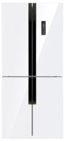 Холодильник с морозильником Maunfeld MFF 181NFW -