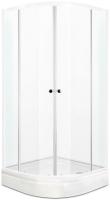 Душевой уголок Domani-Spa Fit 99 / DS04F99L0Cl00 (прозрачное стекло) -