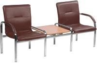 Секция стульев Nowy Styl Staff-2T Chrome (Eco-28) -