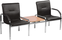 Секция стульев Nowy Styl Staff-2T Chrome (Eco-30) -