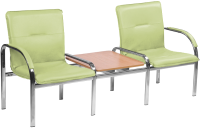 Секция стульев Nowy Styl Staff-2 T Chrome (Eco-45) -