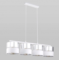 Люстра TK Lighting Hilton Silver 4177 -