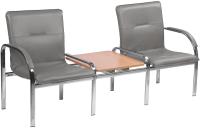 Секция стульев Nowy Styl Staff-2T Chrome (Eco-70) -