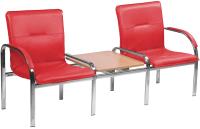 Секция стульев Nowy Styl Staff-2T Chrome (Eco-90) -