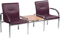 Секция стульев Nowy Styl Staff-2T Chrome (EV-11) -