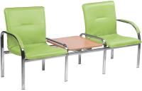 Секция стульев Nowy Styl Staff-2T Chrome (EV-12) -