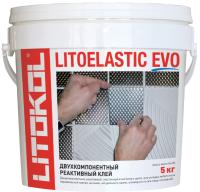 Клей для плитки Litokol Litoelastic Evo A+B (5кг) -