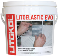Клей для плитки Litokol Litoelastic Evo A+B (10кг) -