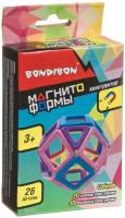 Конструктор магнитный Bondibon Магнитоформы / ВВ4408 (25дет.) -