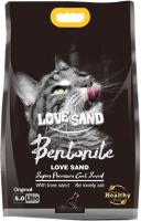Наполнитель для туалета Love Sand без аромата / LS-001 (5л) -
