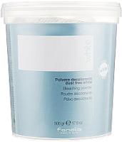 Порошок для осветления волос Fanola White обесцвечивающая пудра пакет (500г) -