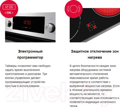 Плита электрическая Hansa FCCX58203