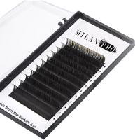 Ресницы для наращивания Milan Pro 1026 MP 0.07/CC Микс (16 линий, черный) -