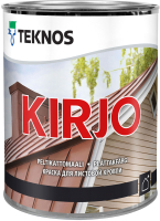 Краска Teknos Kirjo Base 1 (900мл, белый) -