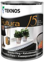 Краска Teknos Futura 15 Base 3 (900мл, прозрачный) -