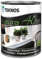 Краска Teknos Futura 40 Base 3 (900мл, прозрачный) -