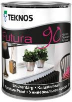 Краска Teknos Futura 90 Base 3 (900мл, прозрачный) -