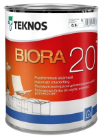 Краска Teknos Biora 20 Base 1 (900мл, белый) -
