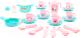 Набор игрушечной посуды Полесье Настенька / 79961 (на 6 персон) -