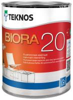 Краска Teknos Biora 20 Base 3 (900мл, прозрачный) -