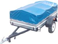 Прицеп для автомобиля ТитаН 2200 оцинкованный (тент и каркас 350мм) -