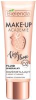 Тональный крем Bielenda Make-Up Academie Vege Flumi минеральный тон 02 натурально-бежев. (30г) -