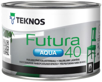 Краска Teknos Futura Aqua 40 Base 3 (450мл, прозрачный) -