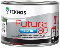 Краска Teknos Futura Aqua 80 Base 1 (450мл, белый) -