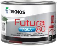 Краска Teknos Futura Aqua 80 Base 3 (450мл, прозрачный) -