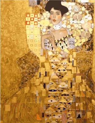 Картина по номерам Picasso Густав Климт. Портрет Адель Блох-Бауэр I (PC4050689)