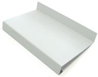 Отлив оконный Добрае акенца 125x1100 (белый) -