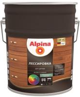 Защитно-декоративный состав Alpina Лессировка (10л, тик) -